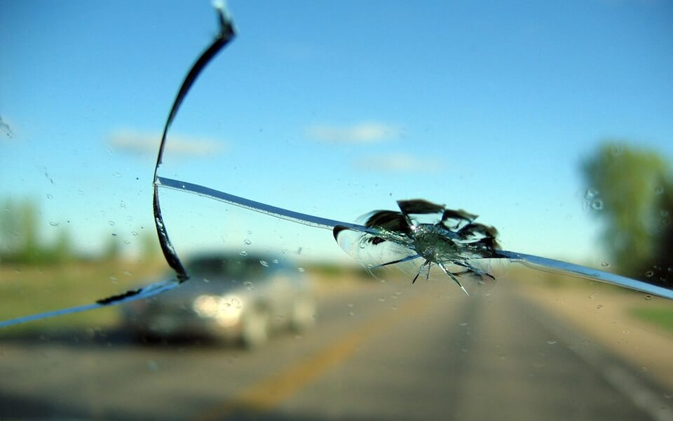 Repair Windshield Rock Chips Promptly